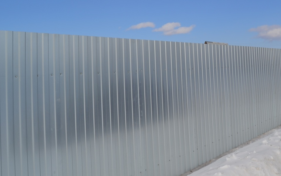 Строительный забор